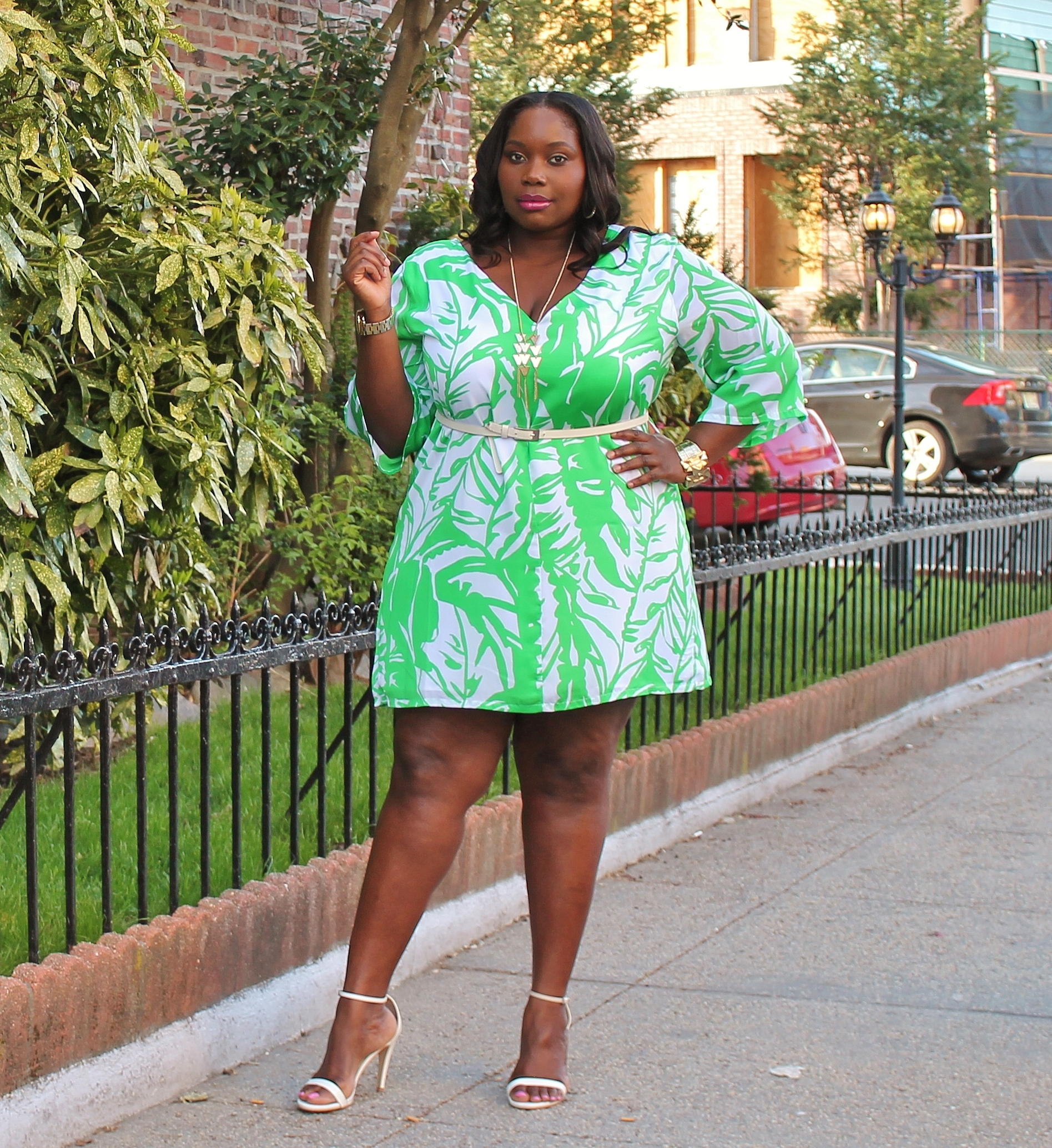 8bd41ddb Turning Things Around In Lilly Pulitzer For Target Plus Size Dress ...