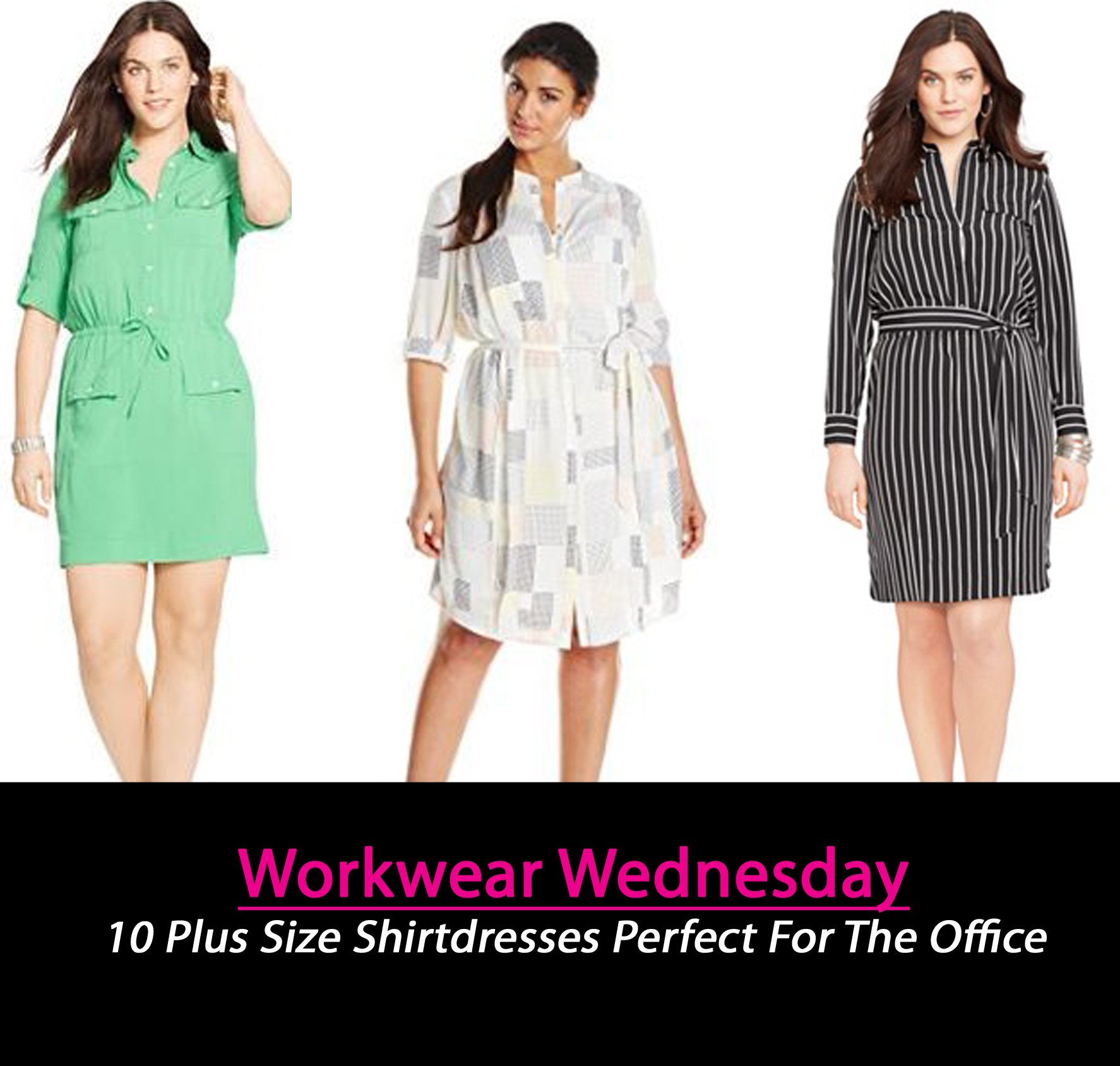6c3e203cc70 10 Plus Size ShirtDresses Chic Enough To Take You From Work To ...