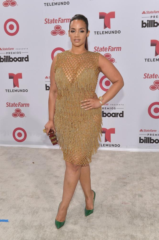 Orange Is The New Black Star Dascha Polanco Sizzles At The Latin Billboard Awards