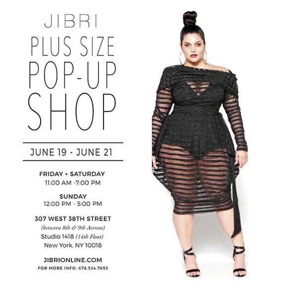 Plus Size Designer Jibri Opens Pop Up Shop In New York During Fffweek
