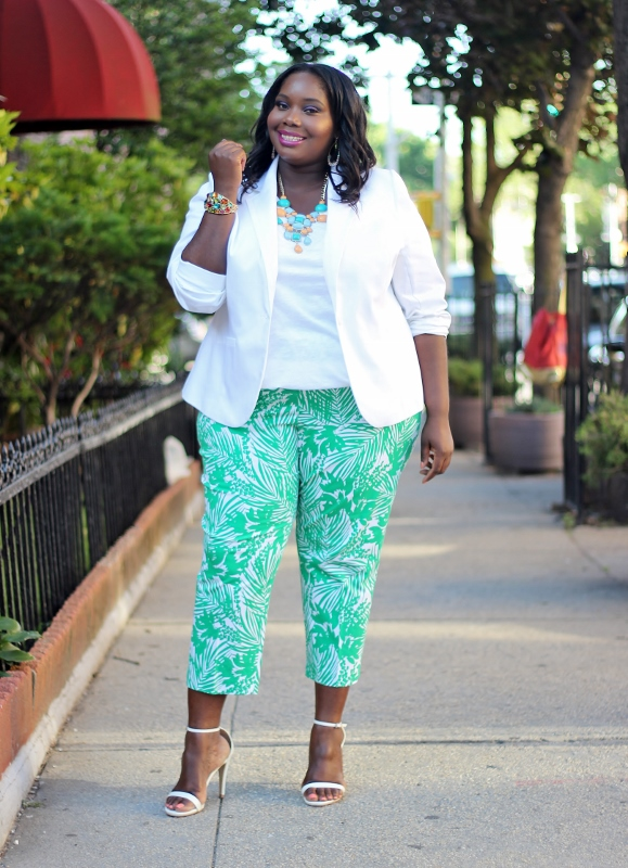 Currently Obsessed With Lane Bryant Tropical Print Plus Size ...