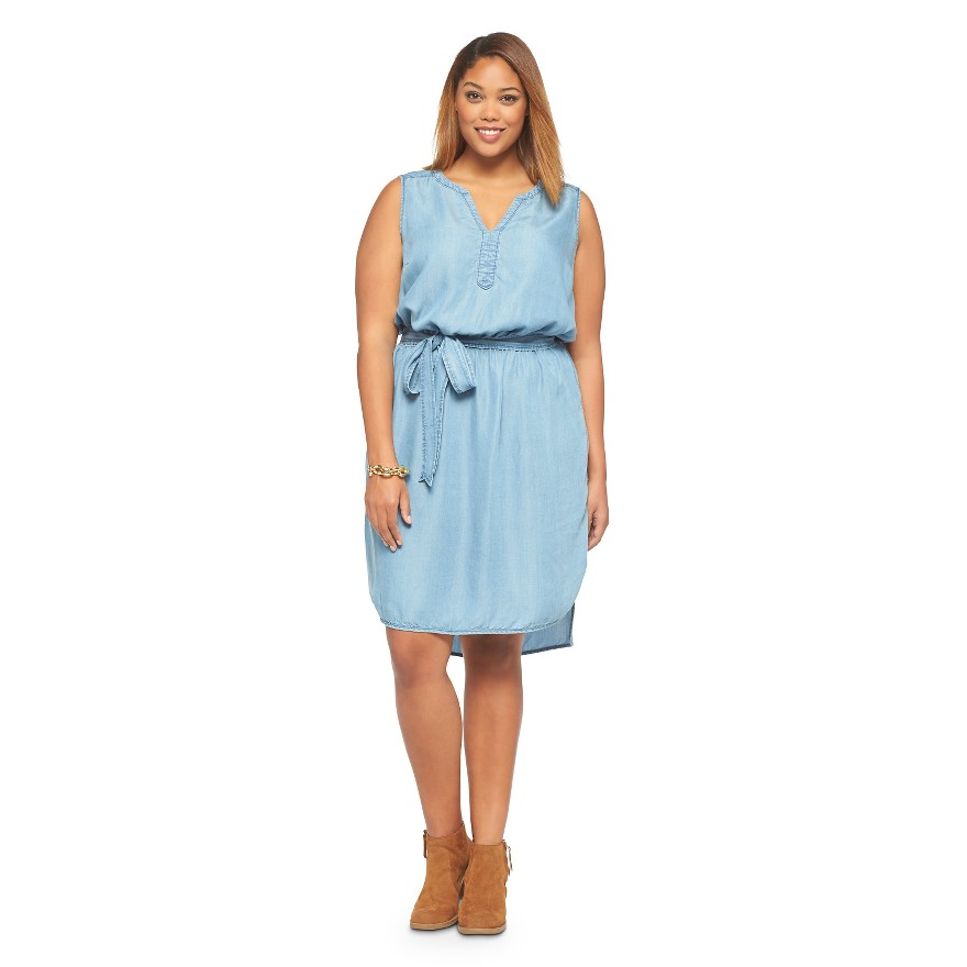 11 Plus Size Denim And Chambray Dresses Under $100 ...