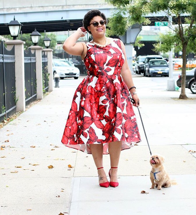 631a14effd6  thecurvycutieblog looks super lady like in this floral frock