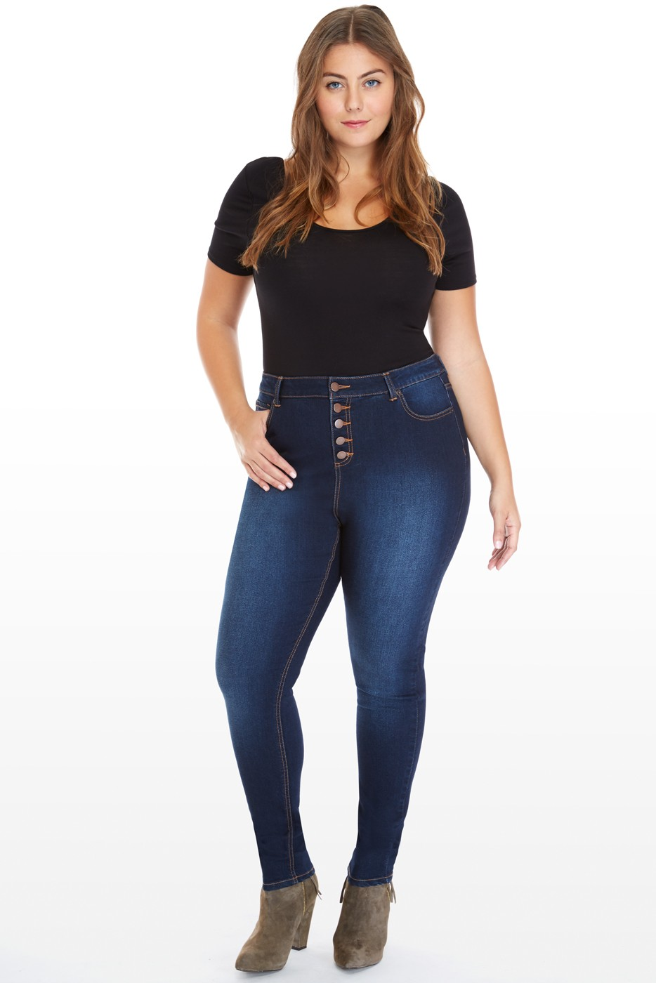 2015 Fall Plus Size Denim Shopping Guide