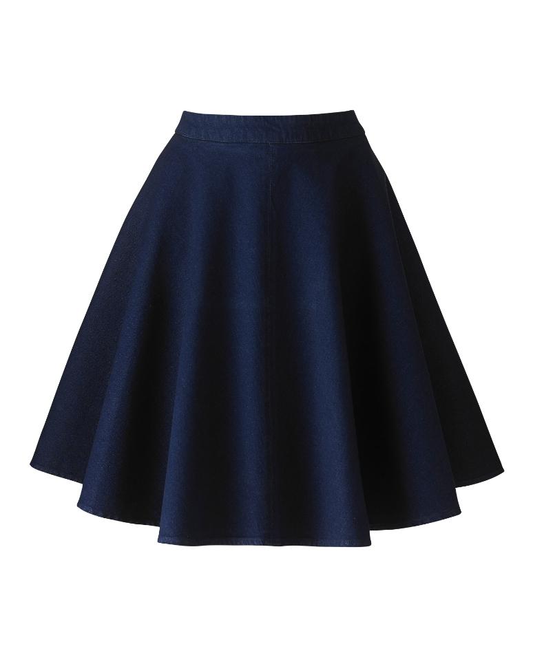 8 chic sassy plus size denim skirts