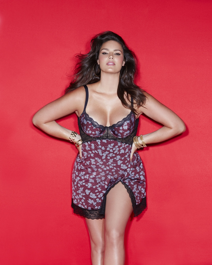 679eaae2067 Lane Bryant Teams Up With Sophie Theallet For A 2015 Fall   Holiday  Lingerie Collection