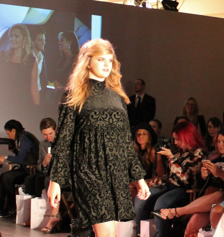 98972e89b69 Plus Size Model Ashley Graham Debuts Sexy Addition Elle Lingerie Collection  At New York Fashion Week