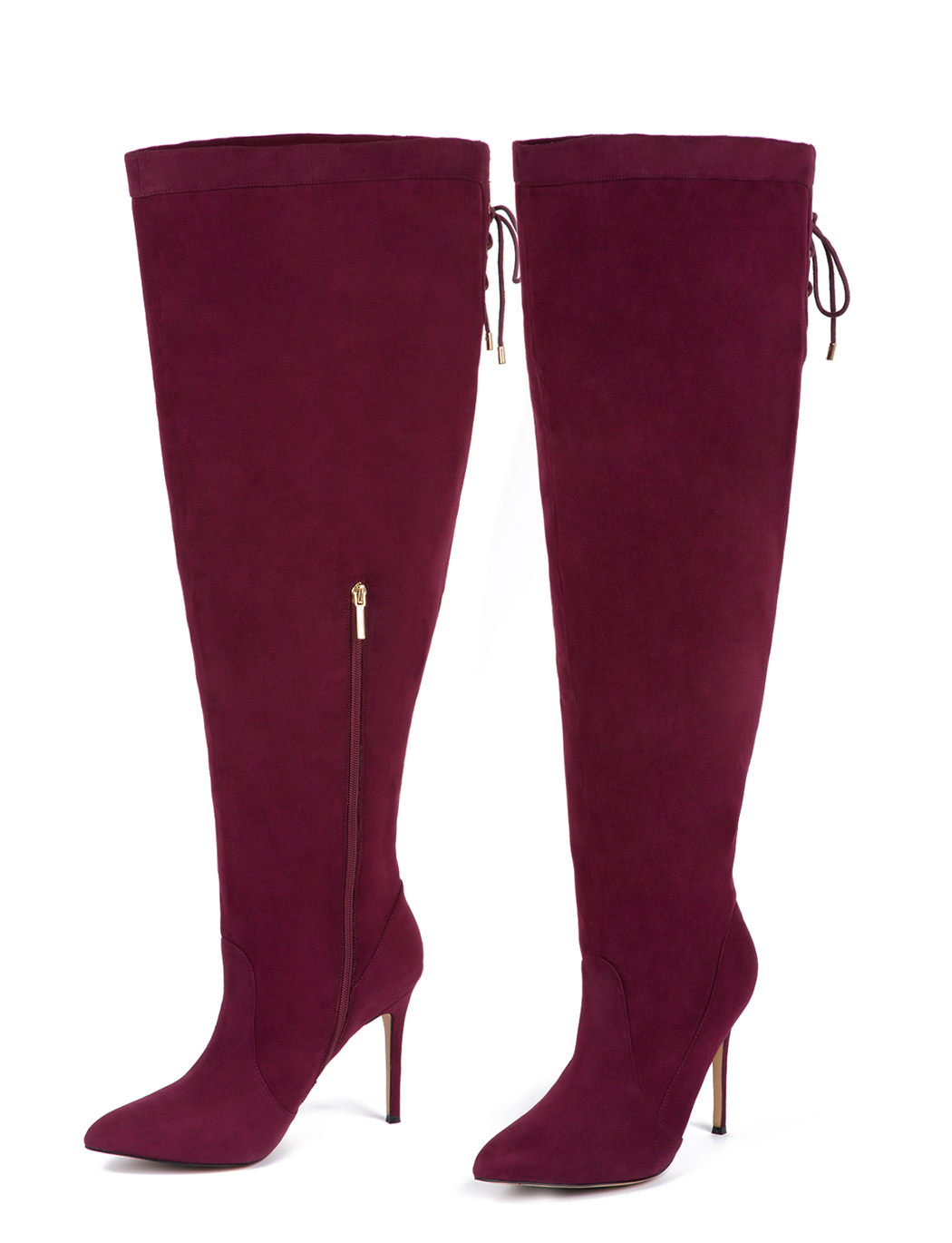 Stylish Wide Calf Boots
