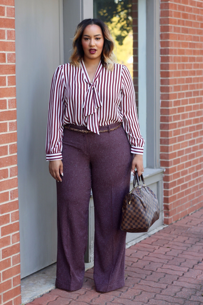 How To Wear Wide Leg Pants (Plus Size)