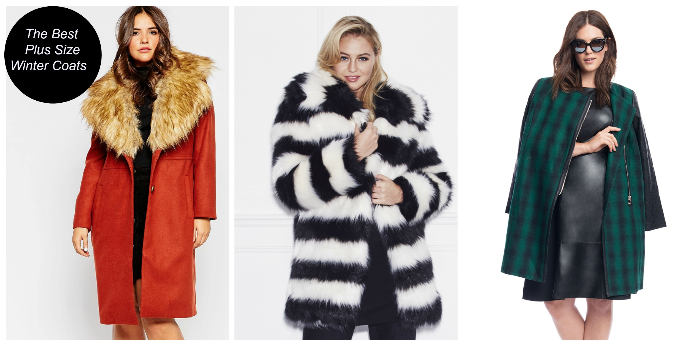 the best 2015 fall & winter plus size coats