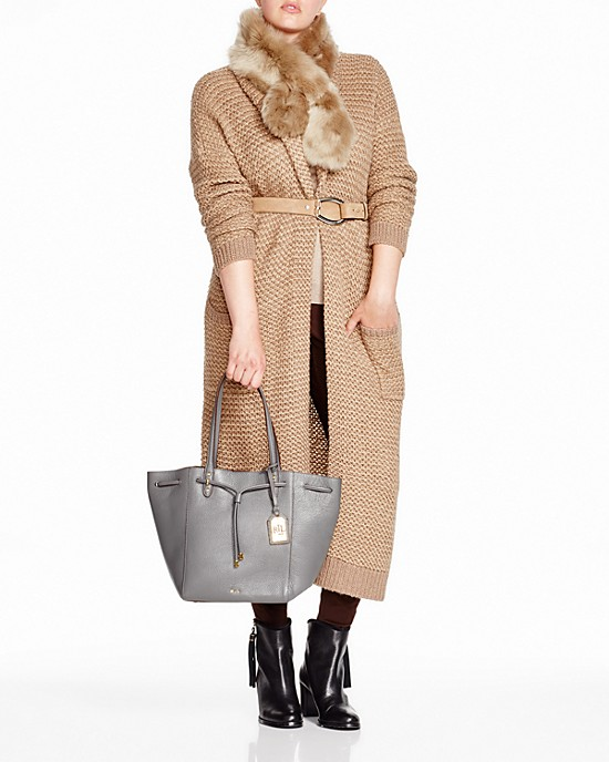 Look office chic in a check print jacket and wide leg trousers two of