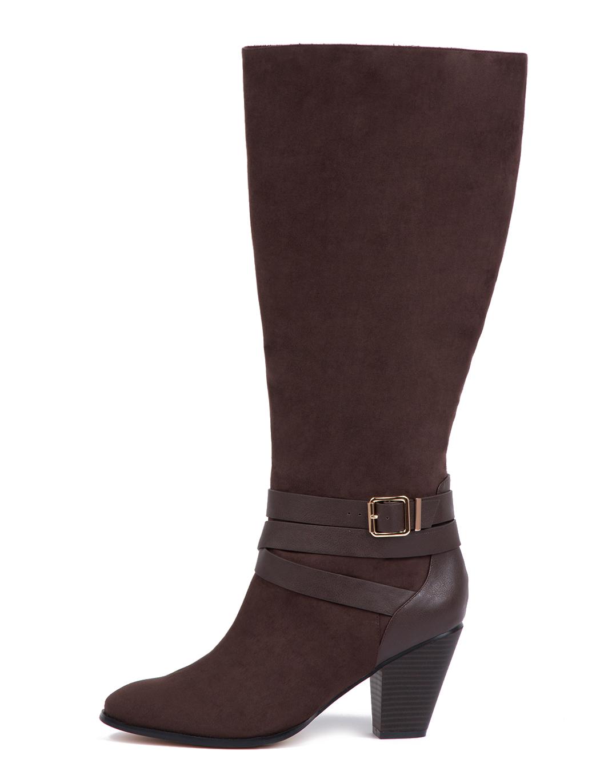 Stylish Wide Calf Boots