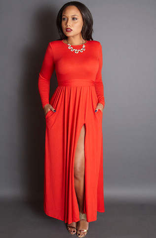 Unforgettable-red-gown-with-shoulder-pads-grisel-holiday-2015-collection_large