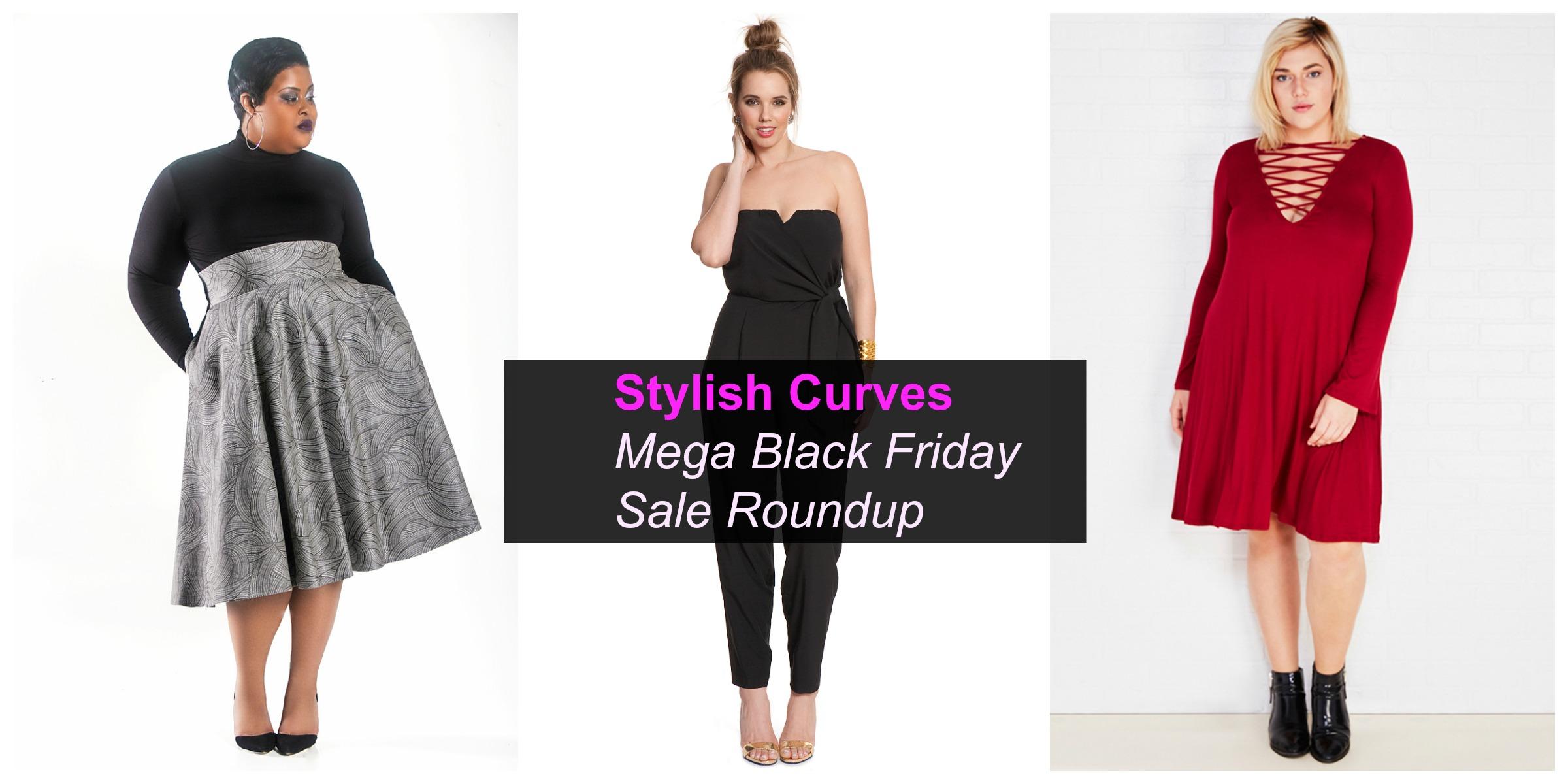 Our Mega Plus Size Black Friday Sale Roundup