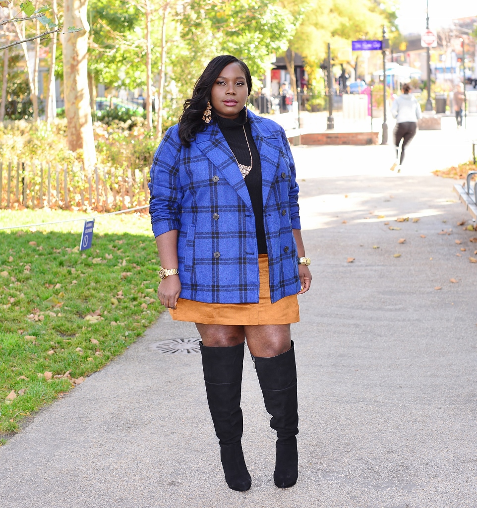 4c462709852 Style Journey  Over The Knee Boots And A Mini Skirt