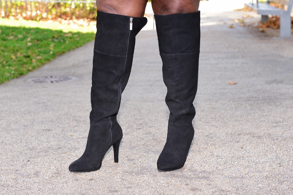 f0f0891bf Style Journey  Over The Knee Boots And A Mini Skirt
