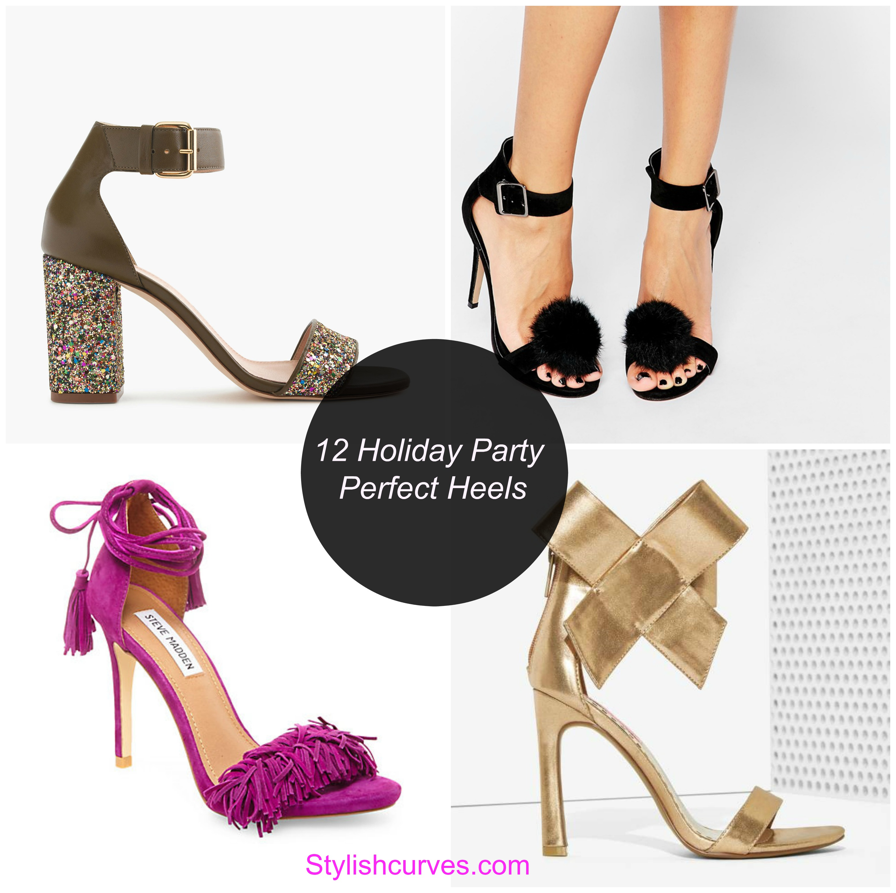 12 holiday party perfect heels