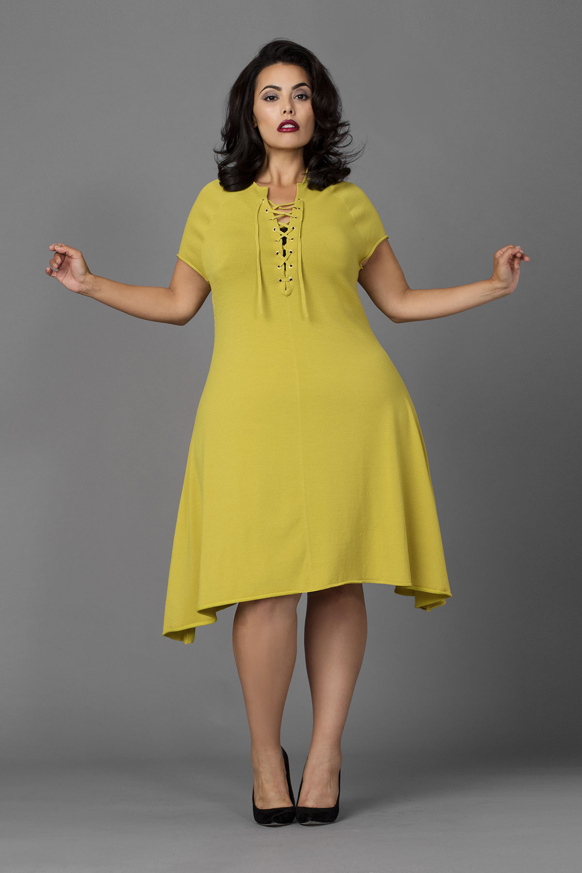 sexy luxe knit plus size dresses from ibbi  stylish curves