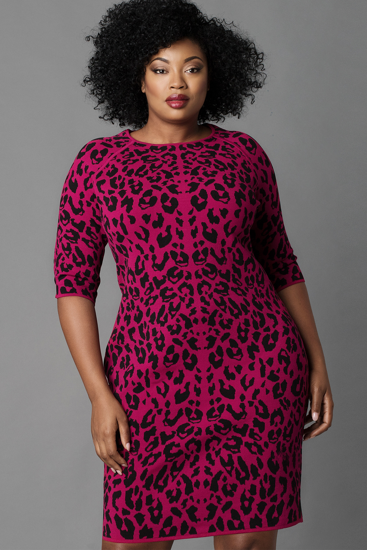 Kim Rogers® Plus Size Cap Sleeve Open Front Easy to wear and pair, this soft Kim Rogers® shrug is a must-have essential for your chic collection. Its crop silhouette lends ultra-feminine style and flair to any dress or cami and pant ensemble.