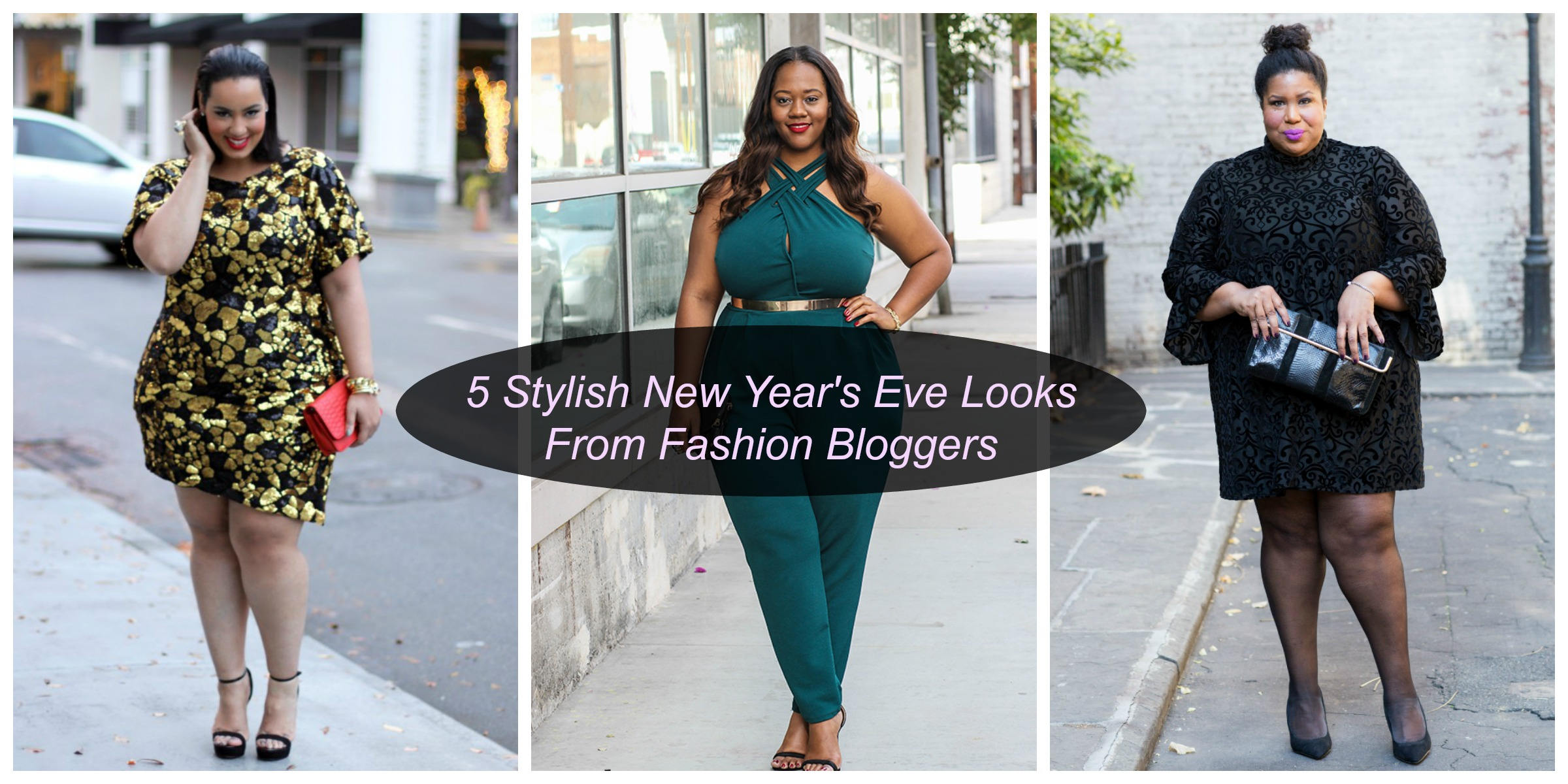 5 Stylish New Year S Eve Looks From Plus Size Fashion