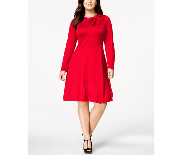 15 Cozy And Chic Plus Size Sweater Dresses To Wear Now ...