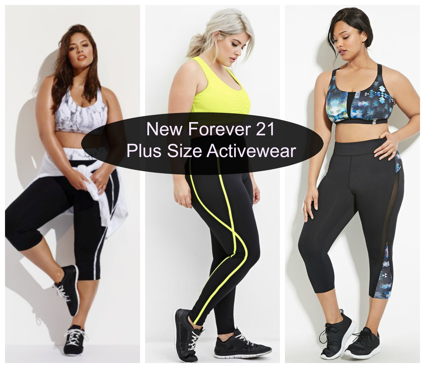 Forever 21 launches new plus size activewear stylish curves plus size activewear sciox Images