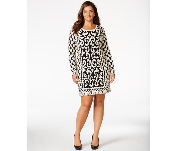 plus size sweater dress 3