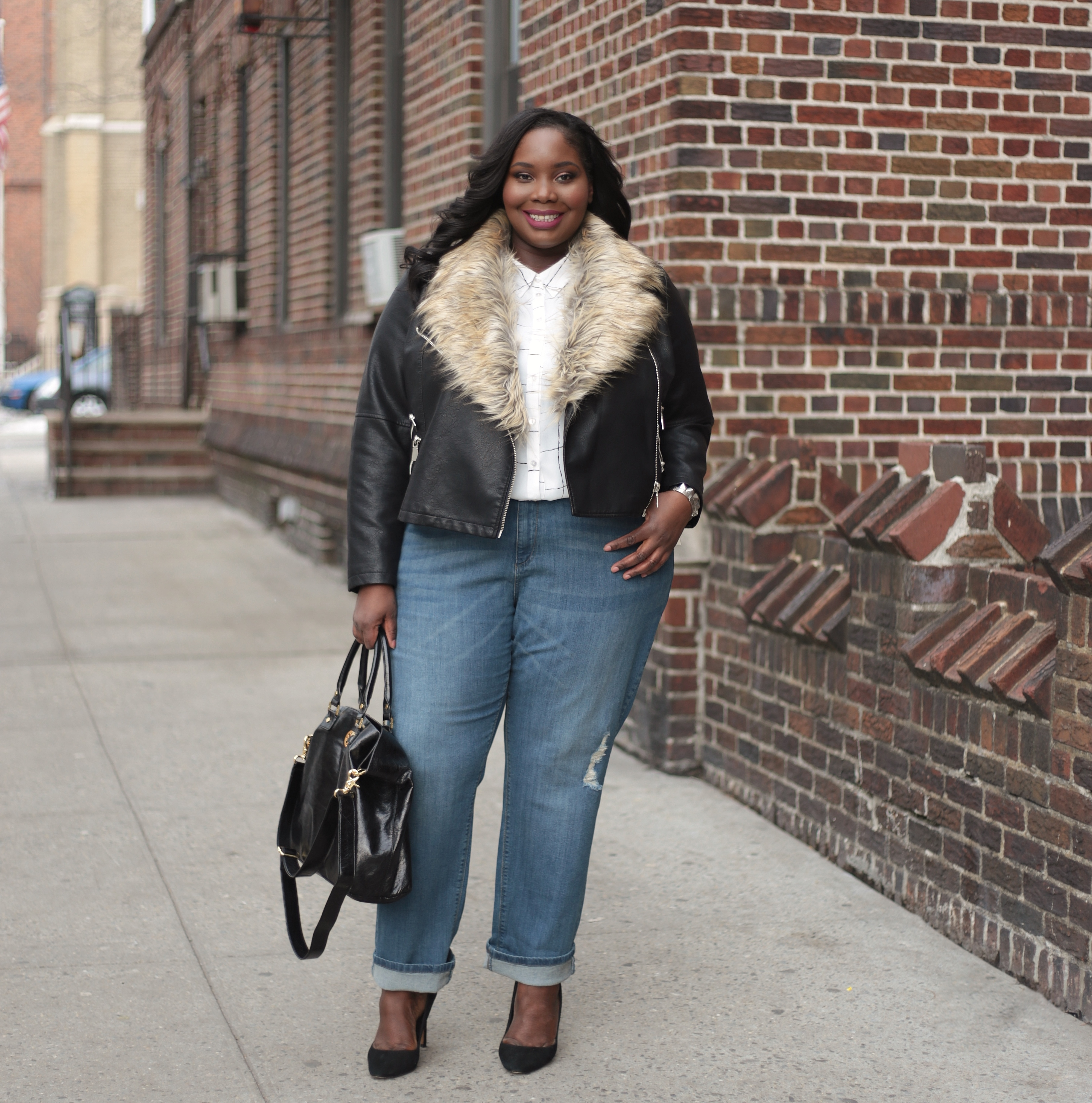Getting Sassy In Simply Be Boyfriend Jeans, Plus Enter To Win A ...