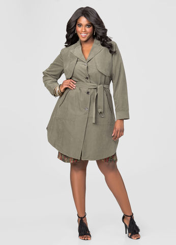 17a541e18733a 12 Spring worthy plus size trench coats