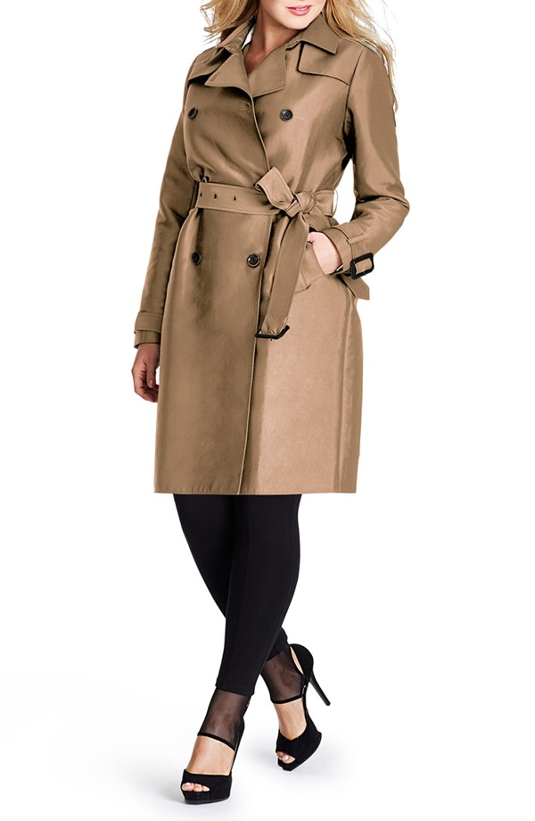 Mynt1792 Plus size trench 2