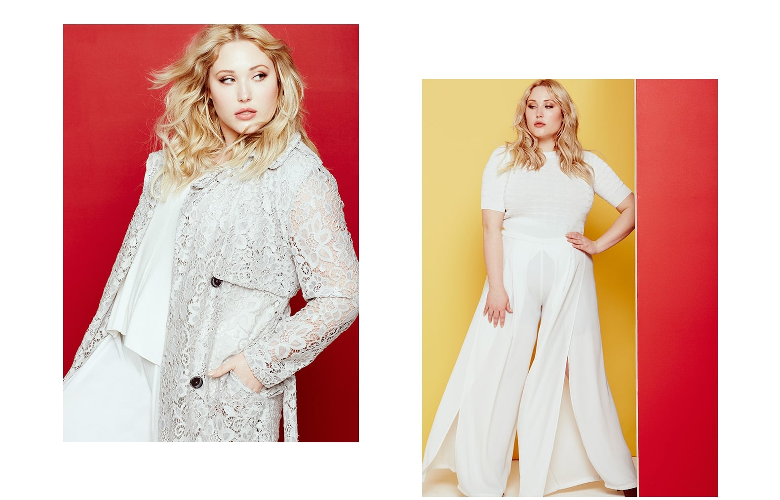 48ec88eca05 Elvi Plus Size Clothing Spring 2016 Collection Features Hayley Hasselhoff