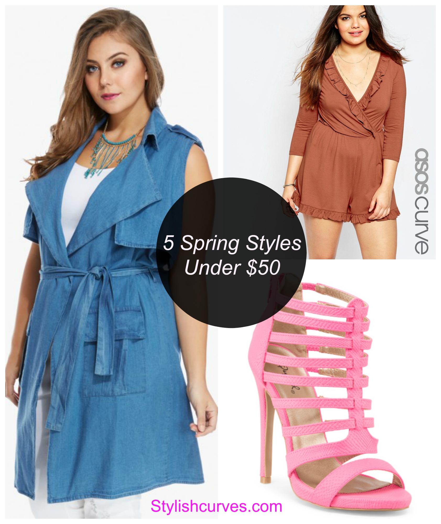 Spring styles under 50