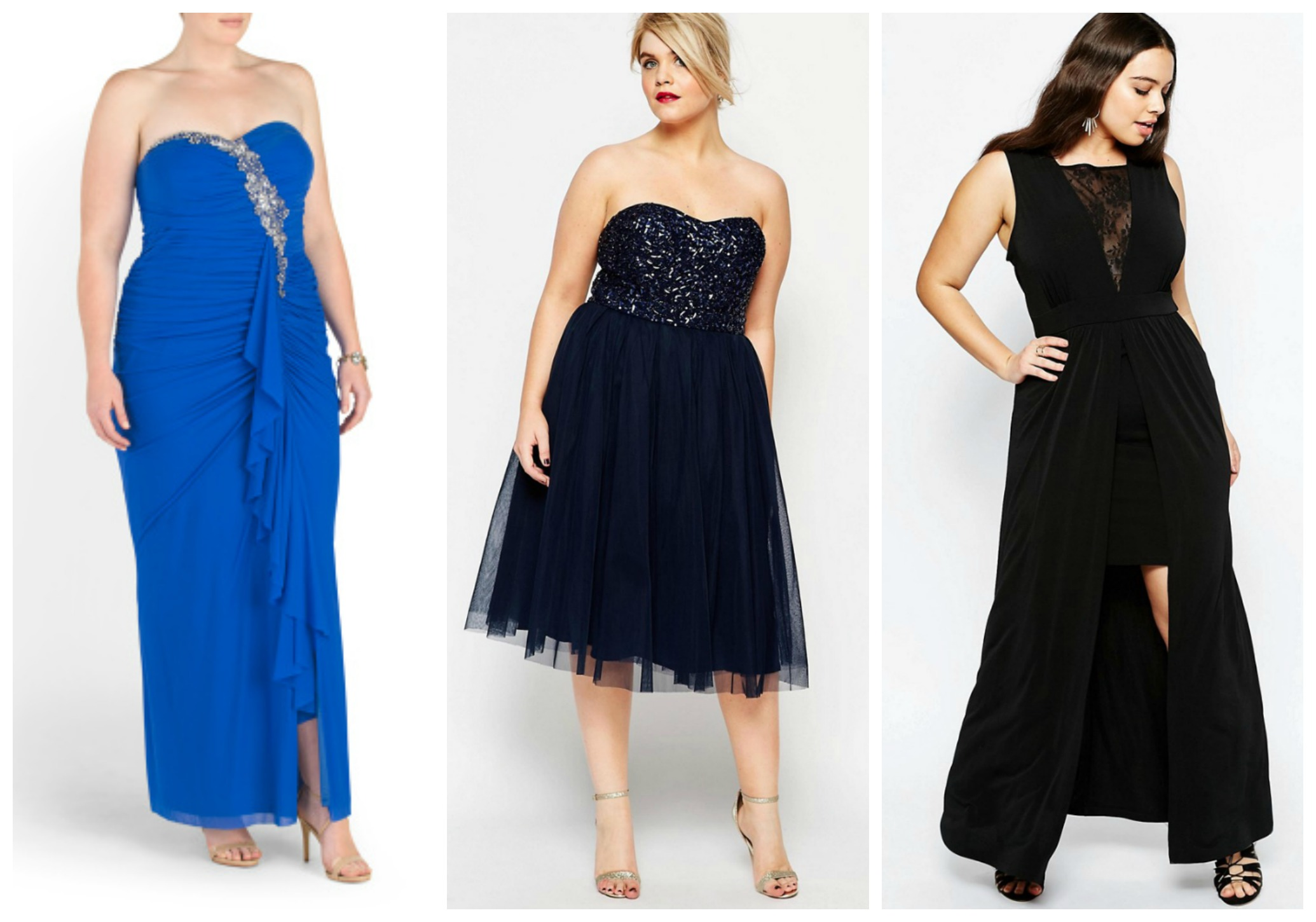 Plus Size Prom Dresses Under $100
