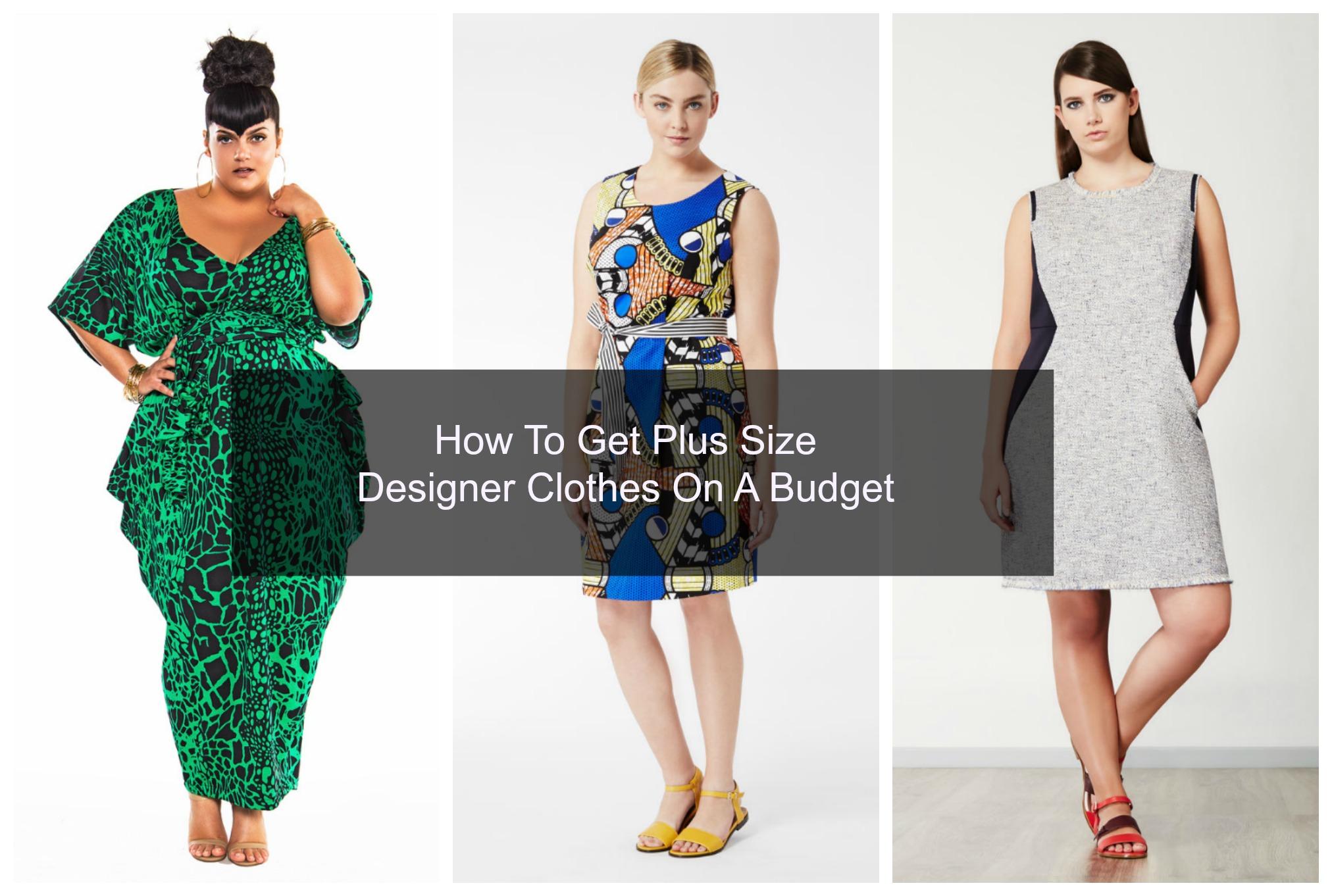 Designer Clothes On A Budget 2