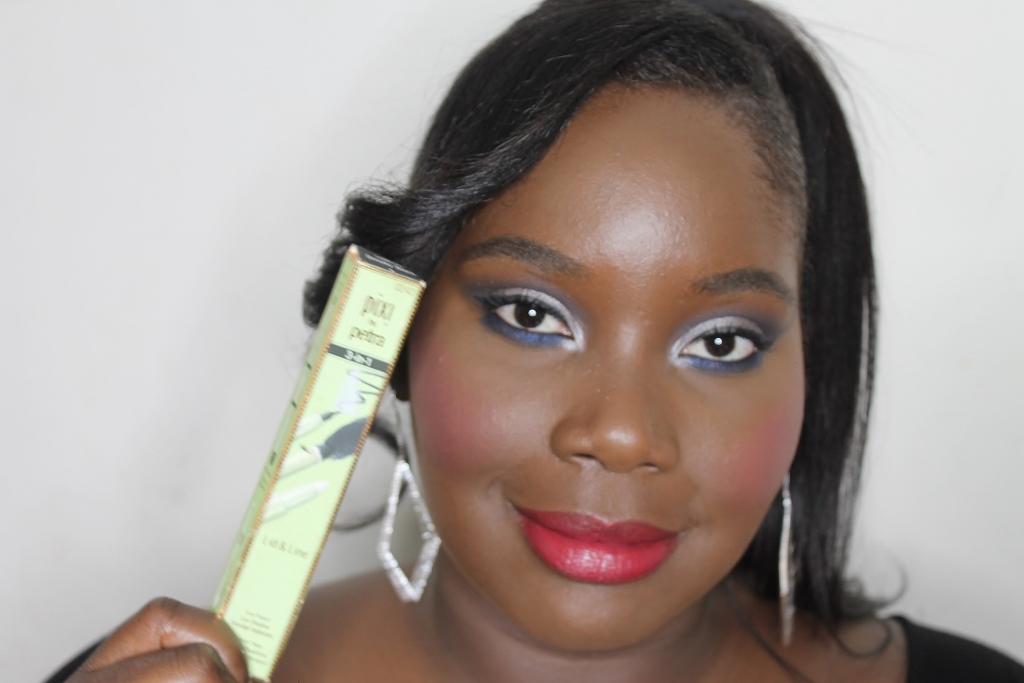 Kleurrijke, vetgedrukte make-up van 4 juli Target Beauty