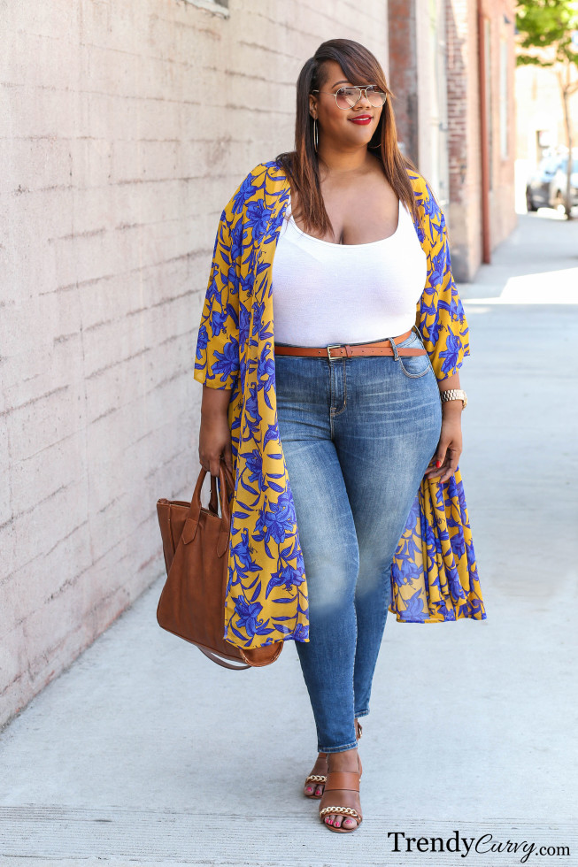 10 Stylish Plus Size Kimono's Plus Outfit Inspiration From ...