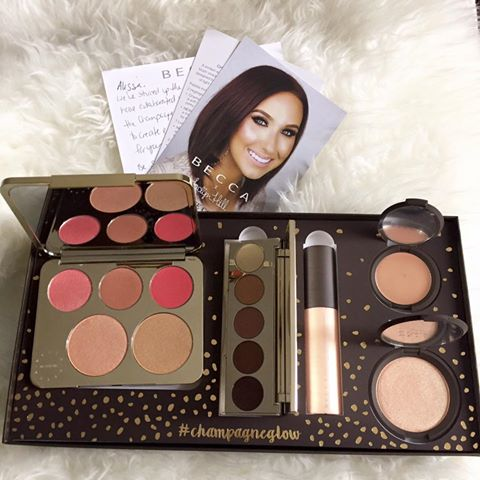 jaclyn hill becca cosmetics champagne collection