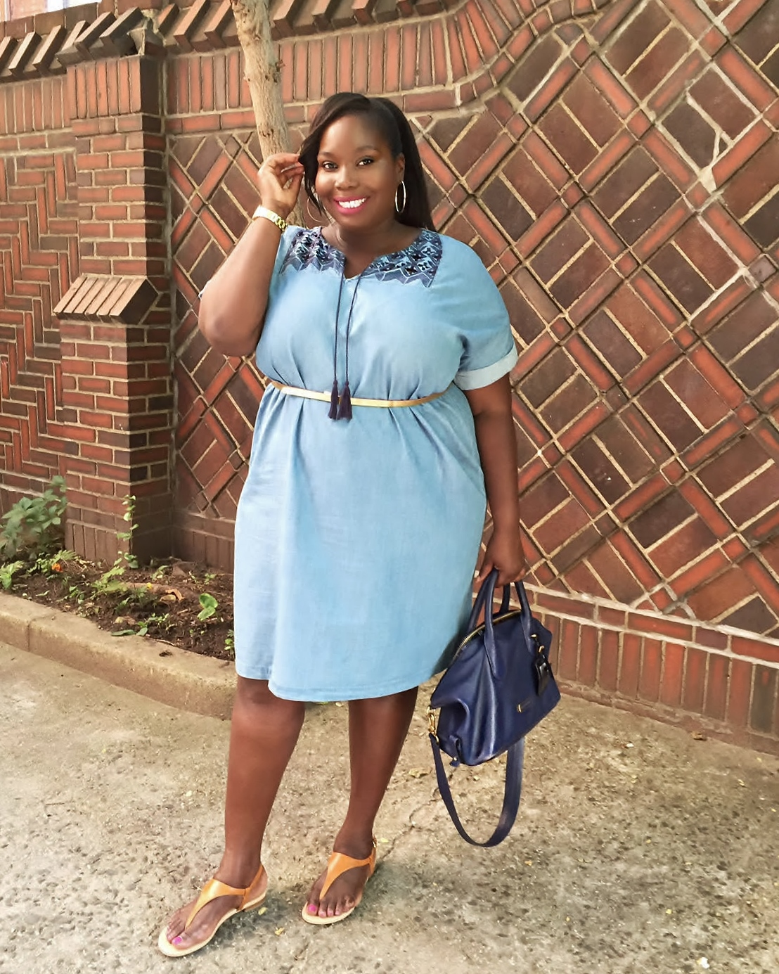 old navy denim dress 2