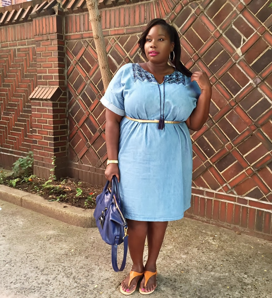 17 Casual Plus Size Denim Dresses To Rock This Summer | Stylish Curves