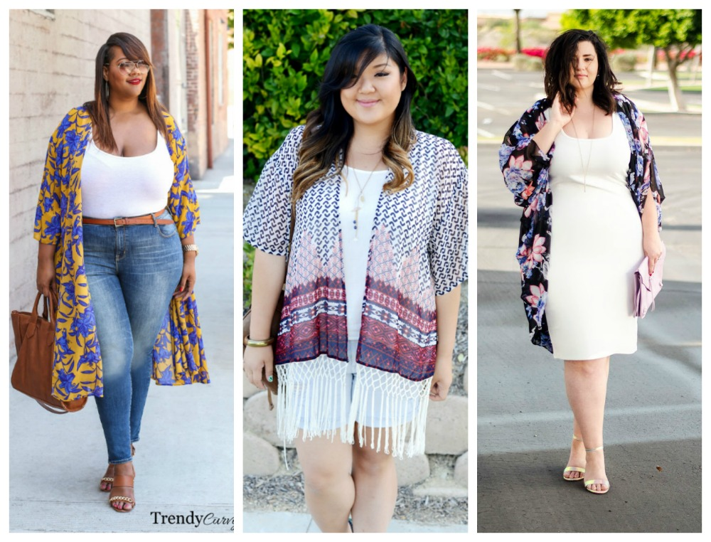 10 Stylish Plus Size Kimonos Plus Outfit Inspiration From Bloggers