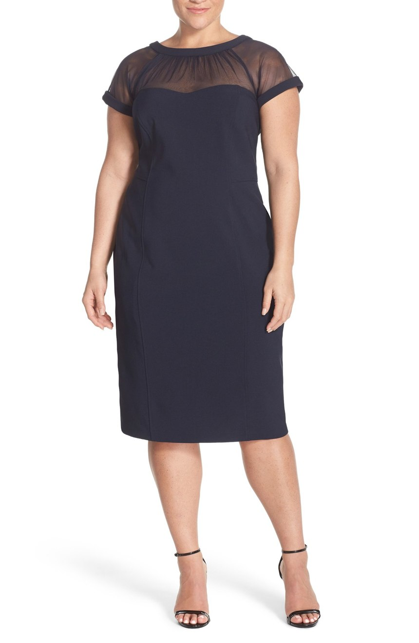flattering dresses plus sized women