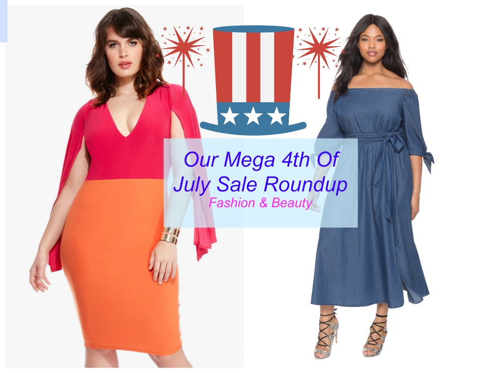 mega plus size 4th of july sales roundup