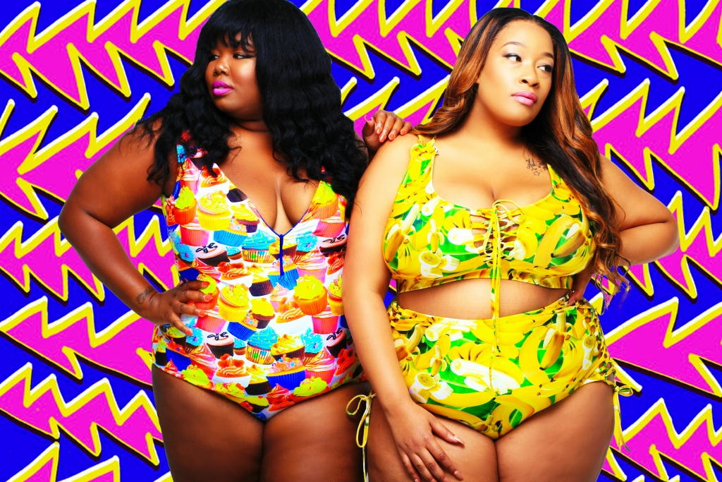 Nieuwe Plus Size Swim Collection van Rebdolls X E & C Rebdolls nieuwe collection
