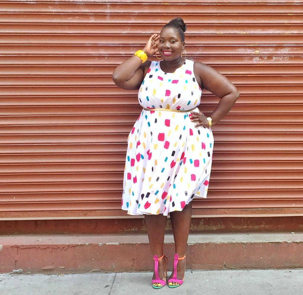 Lane Bryant Fit And Flare Dress