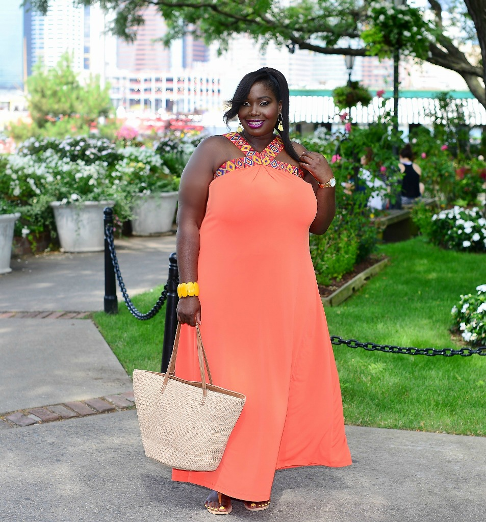 Keeping It Chic In Maxi-jurken van New York & Company New York And Company