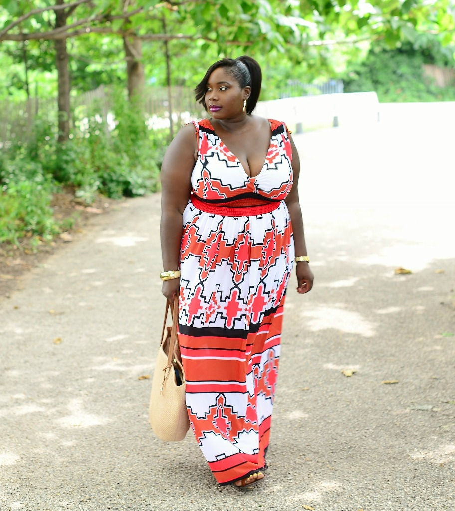 Keeping It Chic In Maxi Dresses From New York Company Stylish Curves