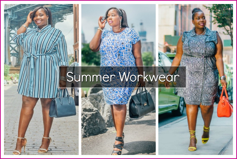 020e9ef9d7be How To Create A Stylish Summer Plus Size Work Wardrobe