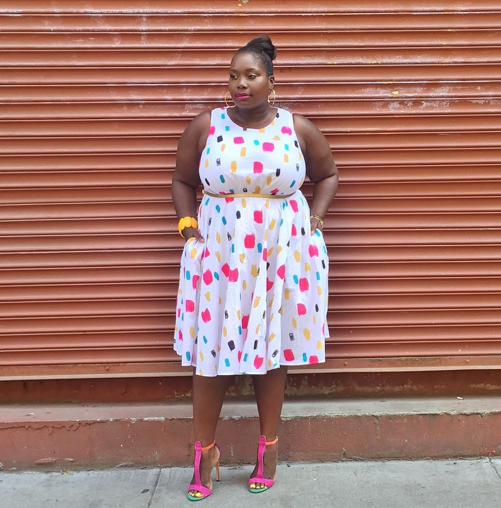 Hoe ik over het haten van mijn dikke armen en omarmde mouwloze jurken lichaam positief