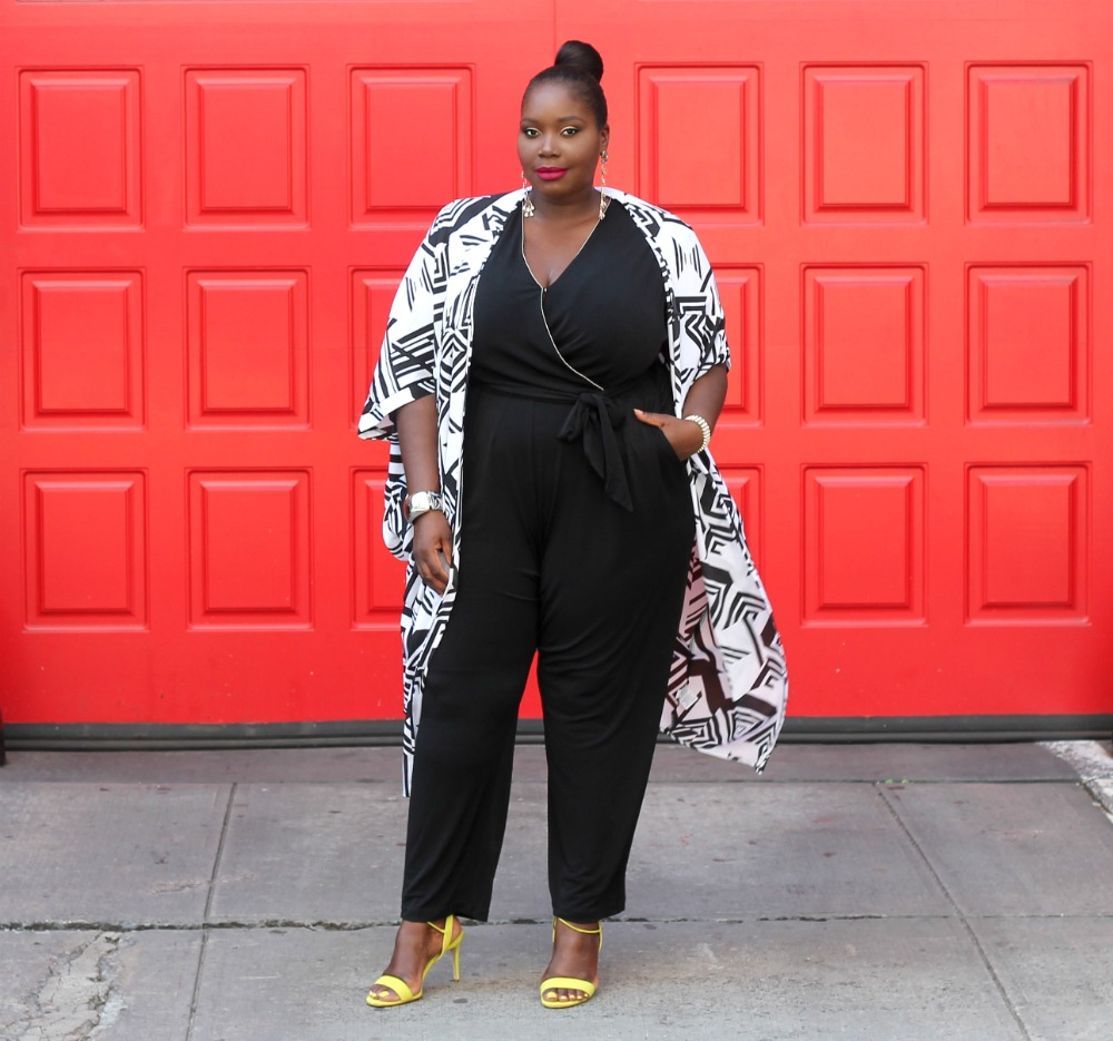 Keeping It Chic In A Plus Size Kimono From Amazon Fashion