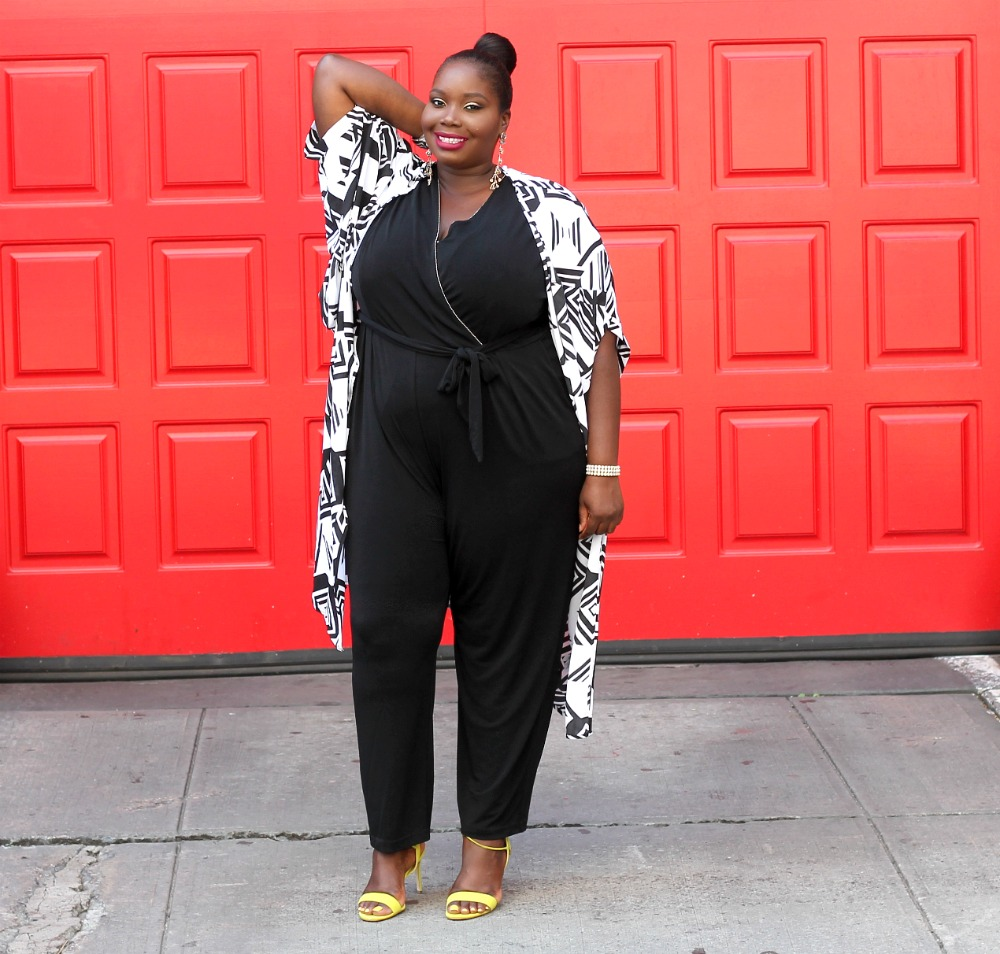 Amazon fashion penningtons plus size kimono and kohls jumpsuit 2